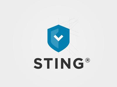 New Sting logo logo icon logo mark