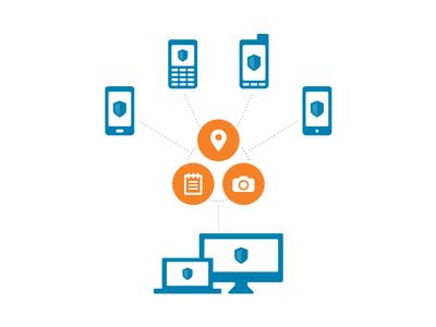 New Company Website Diagram icons minimal diagram