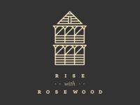 Rise with Rosewood logo