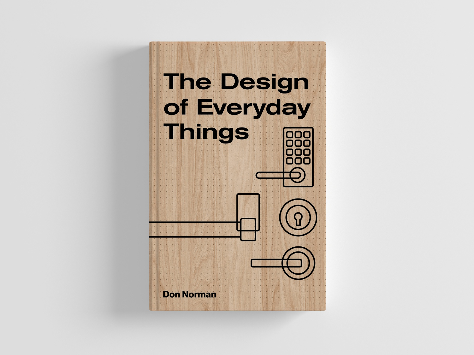 RE:IMAGINED BOOK COVER DESIGN | The Design Of Everyday Things