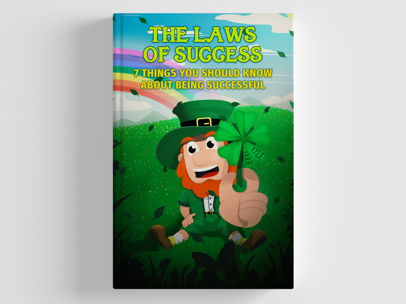 [COMMISSIONED] Book Cover Design - Leprechaun themed creative design clover green cartoon character design character book cover art book cover mockup book cover design book cover book digital illustration illustrator leprechaun vector creative illustration artwork creatives design