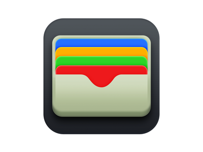 Apple Wallet Icon Big Sur edition (unofficial) app icon designers app icon design financial ios icon ios wallets icons iconography icon design creative ui app icons app icon icon wallet big sur apple creatives artwork design
