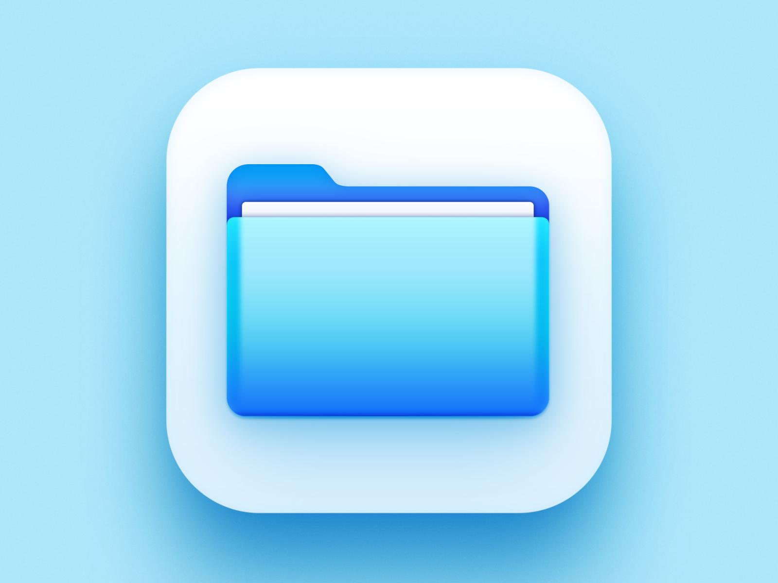 Apple Files Icon Big Sur Edition