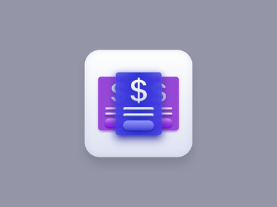 Price List icon (Big Sur) design manila price purple blue icon pack icon artwork enterprise price list apple big sur icon big sur icons icon set ui icon design illustration creatives design iconography icon