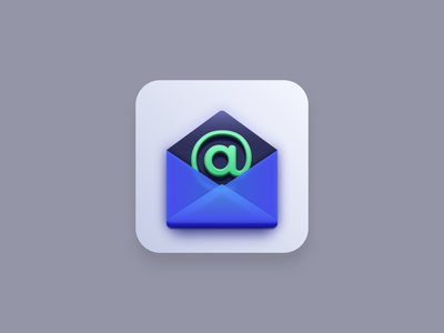 Email Marketing (Big Sur icon style) app icon icon designer icon designs vector illustration email marketing marketing email blue vector icons iconography icons icon design icon set icon vector icon big sur icon big sur vector creatives design