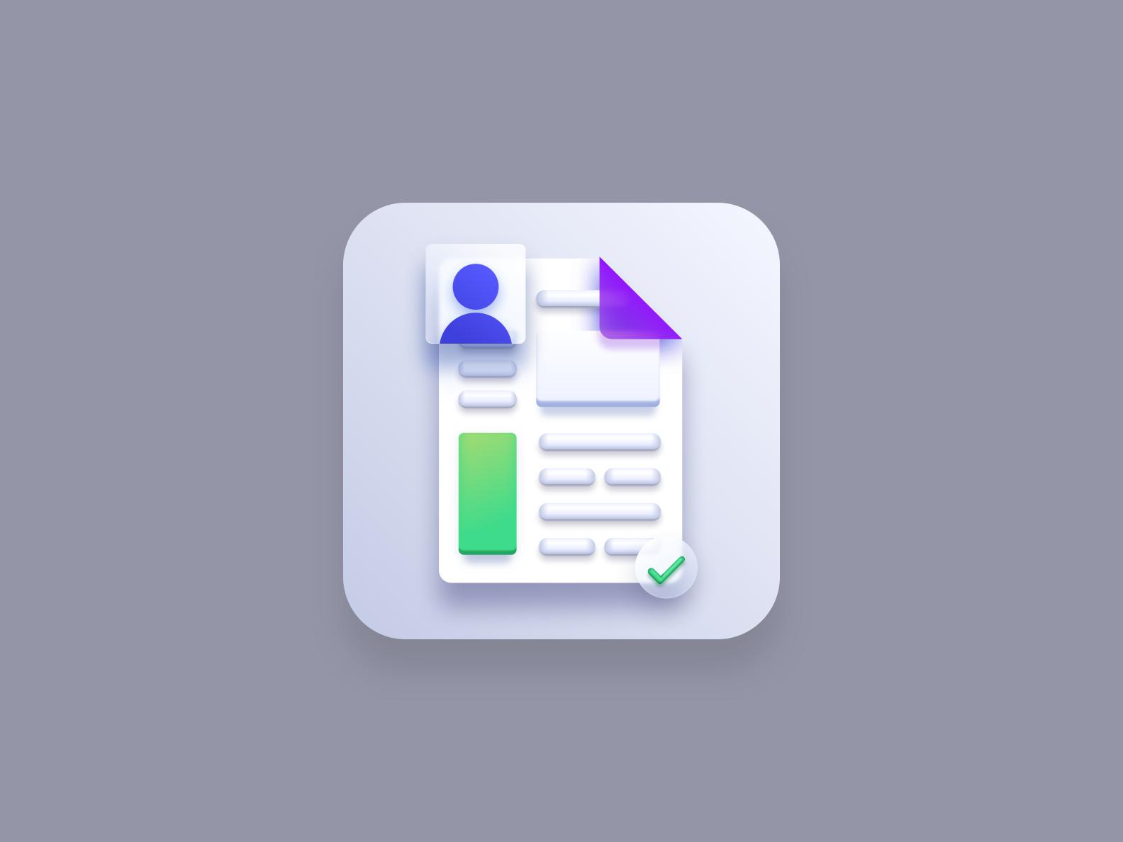 Resume icon (Big Sur style)