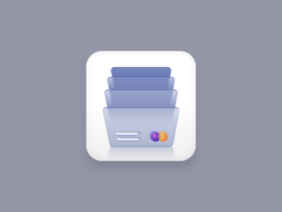 Cards icon (Big Sur style) app icon gray vector icons icon set icon designs visa mastercard bills cards sketchapp vector icon icon designer icon design iconography icon big sur icon big sur vector creatives design