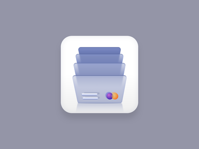 Cards icon (Big Sur style) app icon gray vector icons icon set icon designs visa mastercard bills cards sketchapp vector icon icon designer icon design iconography icon big sur icon big sur vector creatives design