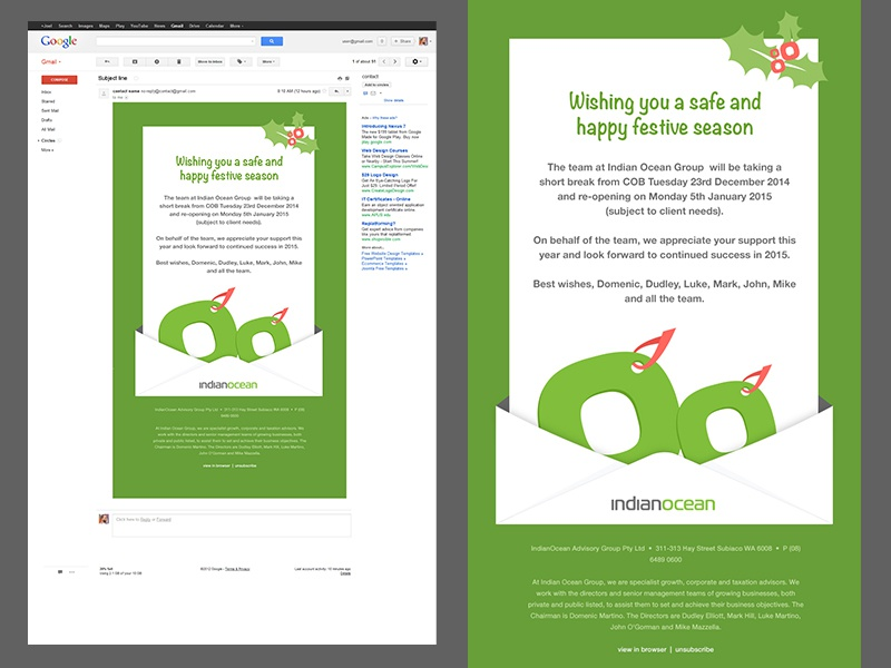 Email Newsletter Design Study By Designmnl Studio Dribbble