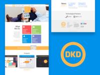 Redesigned: DKD Agency website