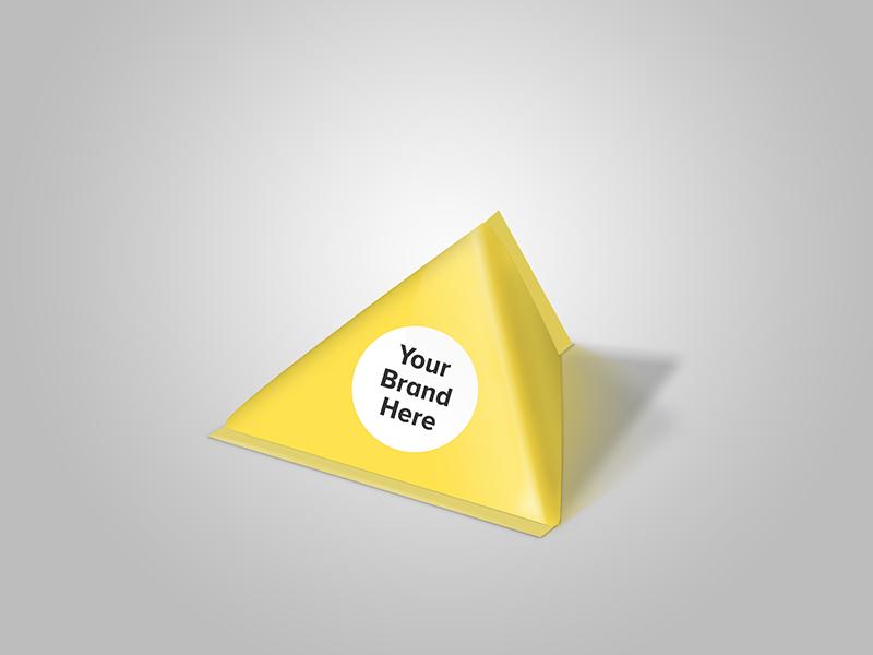 Triangular package template by designmnl studio dribbble maxwellsz