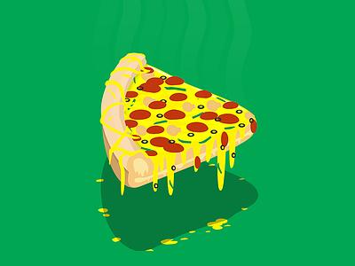 Cheese-tastic Overload food rebound playoff vinnys stickermule design illustration stickers pizza