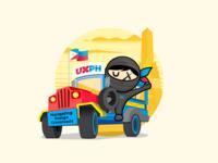 UXPH Sticker |  Manila, Philippines