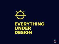 'EVERYTHING UNDER DESIGN' logo design