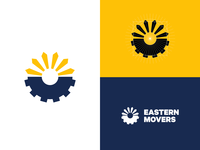 """Eastern Movers"" logo design"