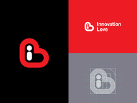 """Innovation Love"" logo design"