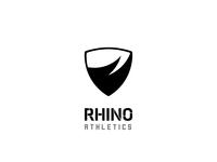 RHINO ATHLETICS logo design