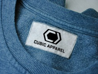 CUBIC APPAREL logo design