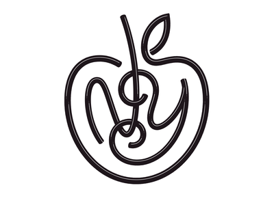 NY Apple type worm metal