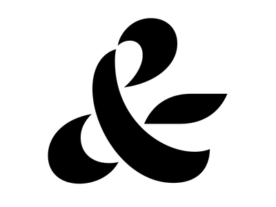 Voluptuous ampersand