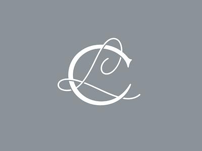 La Cresta Monogram monogram lettering logotype typography