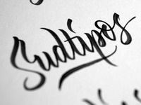 Sudtipos — More lettering