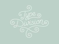 Type Division Logotype 3