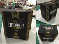 ACDC ThunderStruck Tequila Packaging