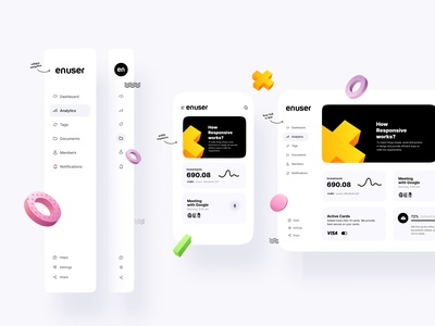 Responsive works on all devices minimalist minimil interaction animation typogaphy uxui interfacedesign interfaces simple cleanui website web responsive website mobile navigation responsive
