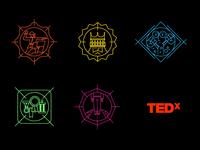 TEDxOC Badges