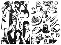 Girls & Food
