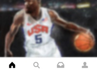 Nike SNKRS App Menu Icons