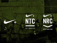 Nike + NRC NTC Logo