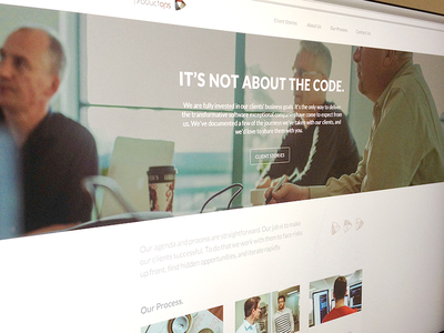 ProductOps Live colorkite ux ui web responsive adaptive mobile storytelling lato editorial