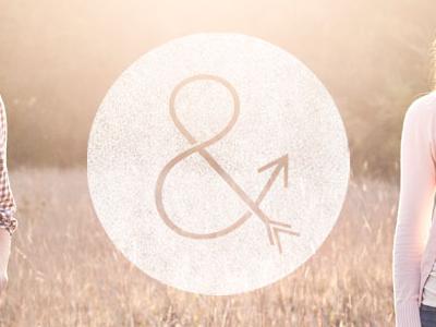 Aim & Arrow Photographers photographers photography website photo brand logo mark ampersand wife colorkite