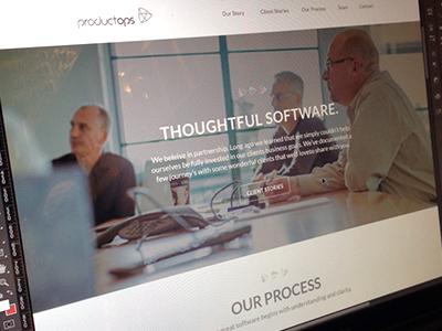 Minimal Storytelling web colorkite design minimal