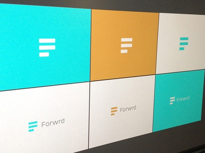 Forwrd logo brand branding colors forwrd colorkite