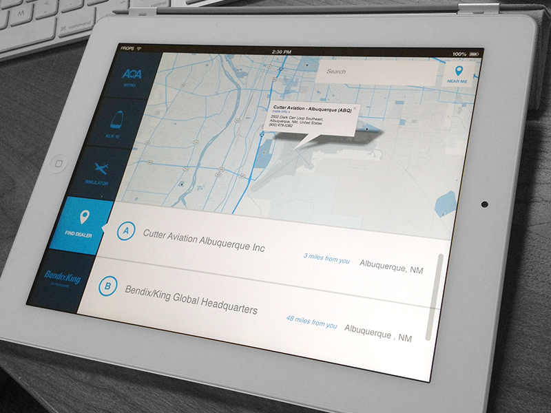 Aviation app mapp
