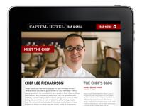 Ipad App Idea for the Capital Hotel