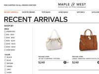 eCommerce Store Design Concept