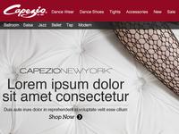 Capezio - eCommerce Design