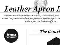 Leather Apron Letter Web Redesign