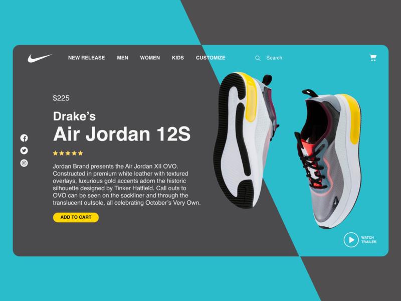 Daily UI, Landing page visual designer landing page branding ui design visual design ux designer design app ui ux