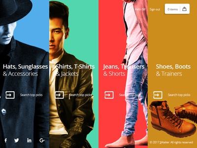 Fashion store selection screen Interface concept ux designer ui designer user interface mobile app dribbble behance ux ui interface iconography artwork illustration