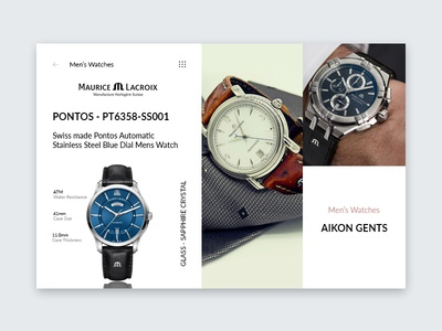 Men's Watches 112 collection ui ux concept app concept landing page daily ui branding brand visual  identity visual designer ui designer visual design app design ux ux designer ui design watches watch