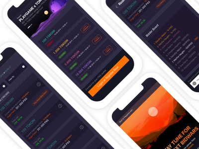Auction Crypto detail ui design interfacedesign cryptocurrency crypto wallet auctions