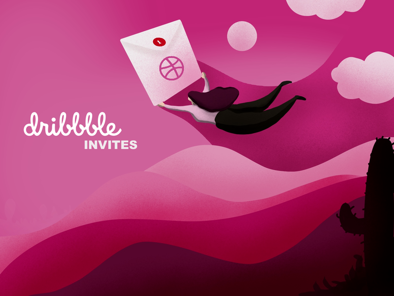 Dribbble Invites invite giveaway invites
