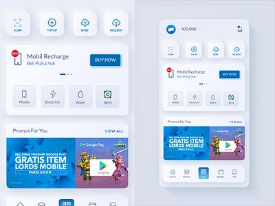 E-Wallet Concept  (DANA) e-commerce discount design ui interface indonesia e-wallet mobile app mobile ui light