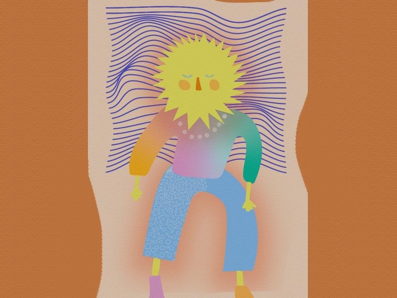 sleep on it illustrator illustration digitalart design