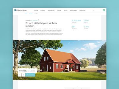 Hjaltevadshus.se wilson creative hjältevadshus houses clean simple web web design